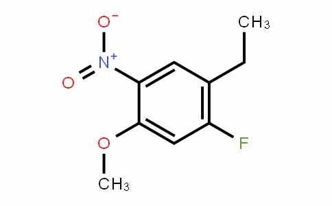 1-ethyl-2-fluoro-4-methoxy-5-nitrobenzene