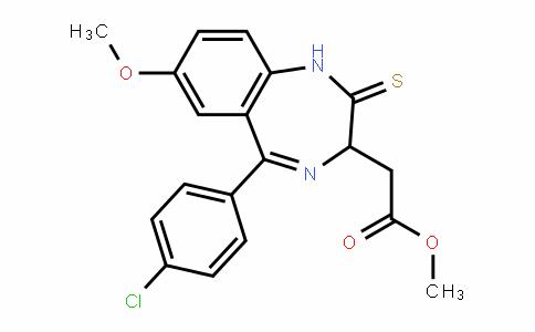 1H-1,4-BenzoDiazepine-3-acetic acid, 5-(4-chlorophenyl)-2,3-DihyDro-7-methoxy-2-thioxo-, methyl ester