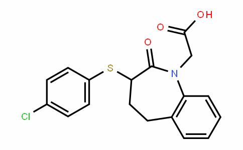 1H-1-Benzazepine-1-acetic acid, 3-[(4-chlorophenyl)thio]-2,3,4,5-tetrahyDro-2-oxo-