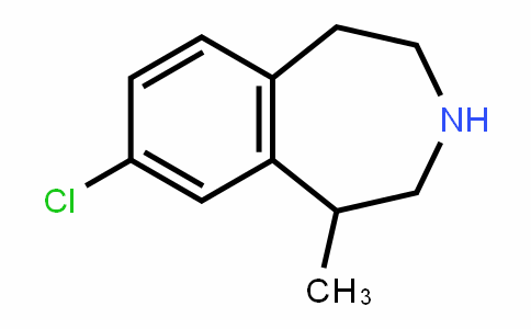 1H-3-Benzazepine, 8-chloro-2,3,4,5-tetrahyDro-1-methyl-