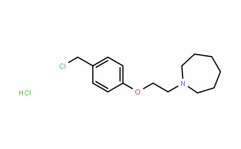 1H-Azepine, 1-[2-[4-(chloromethyl)phenoxy]ethyl]hexahyDro-, hyDrochloriDe (1:1)
