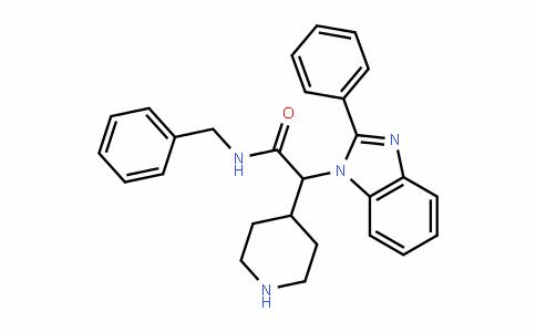 1H-BenzimiDazole-1-acetamiDe, 2-phenyl-N-(phenylmethyl)-α-4-piperiDinyl-