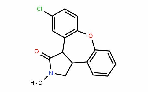 11-氯-2,3,3A,12B-四氢-2-甲基-1H-二苯并[2,3:6,7]氧杂卓并[4,5-C]吡咯-1-酮