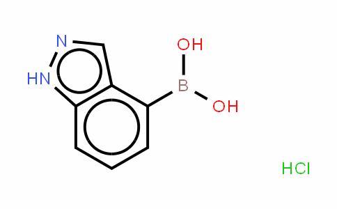 吲唑-4-硼酸盐酸盐