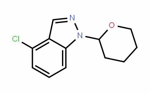 1H-InDazole, 4-chloro-1-(tetrahyDro-2H-pyran-2-yl)-