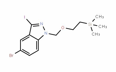 1H-InDazole, 5-bromo-3-ioDo-1-[[2-(trimethylsilyl)ethoxy]methyl]-