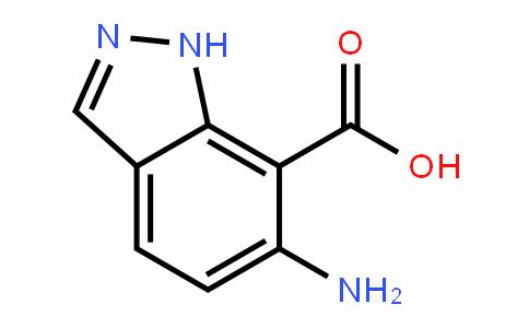1H-InDazole-7-carboxylic acid, 6-amino-