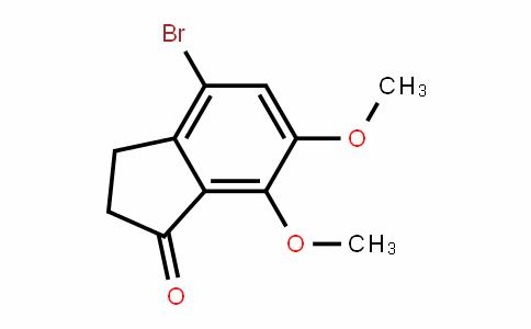 1H-InDen-1-one, 4-bromo-2,3-DihyDro-6,7-Dimethoxy- (9CI)