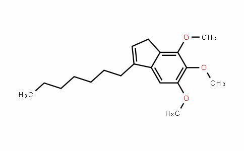 1H-InDene, 3-heptyl-5,6,7-trimethoxy-