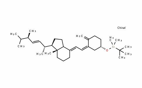 叔-丁基-二甲基-(4-亚甲基-3-{2-[7a-甲基-1-(1,4,5-三甲基-己-2-烯基)-八氢-茚-4-亚基]-亚乙基}-环己三烯并氧基)-硅烷