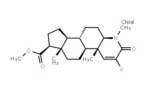 1H-InDeno[5,4-f]quinoline-7-carboxylic acid, 3-fluoro-2,4a,4b,5,6,6a,7,8,9,9a,9b,10,11,11a-tetraDecahyDro-1,4a,6a-trimethyl-2-oxo-, methyl ester, (4aS,4bS,6aS,7S,9aS,9bS,11aR)-
