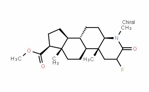 1H-InDeno[5,4-f]quinoline-7-carboxylic acid, 3-fluorohexaDecahyDro-1,4a,6a-trimethyl-2-oxo-, methyl ester, (4aR,4bS,6aS,7S,9aS,9bS,11aR)-