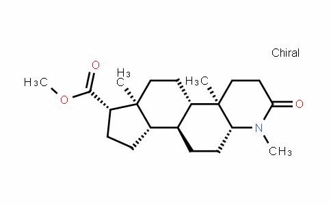 1H-InDeno[5,4-f]quinoline-7-carboxylic acid, hexaDecahyDro-1,4a,6a-trimethyl-2-oxo-, methyl ester, (4aR,4bS,6aS,7S,9aS,9bS,11aR)-