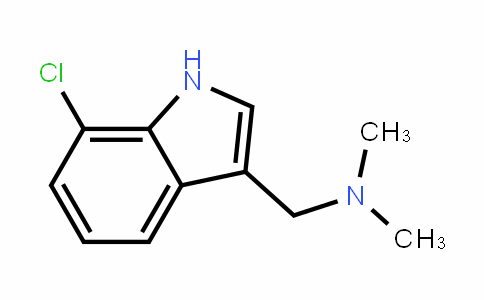 1H-InDole-3-methanamine, 7-chloro-N,N-Dimethyl-