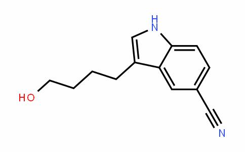 1H-InDole-5-carbonitrile, 3-(4-hyDroxybutyl)-