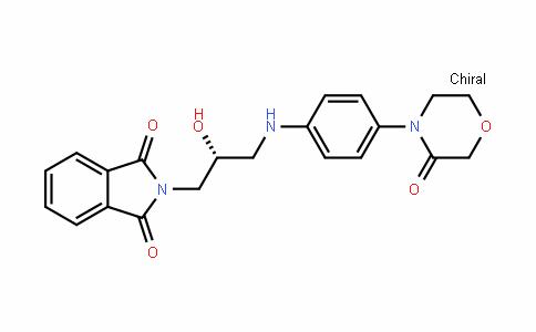 1H-IsoinDole-1,3(2H)-Dione, 2-[(2R)-2-hyDroxy-3-[[4-(3-oxo-4-morpholinyl)phenyl]amino]propyl]-