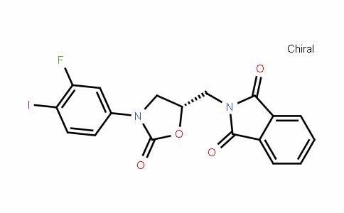 1H-IsoinDole-1,3(2H)-Dione, 2-[[(5S)-3-(3-fluoro-4-ioDophenyl)-2-oxo-5-oxazoliDinyl]methyl]-