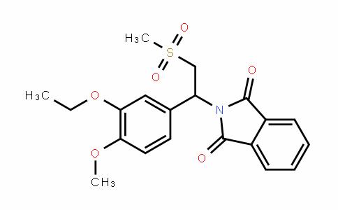 1H-IsoinDole-1,3(2H)-Dione, 2-[1-(3-ethoxy-4-methoxyphenyl)-2-(methylsulfonyl)ethyl]-