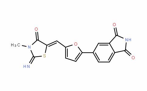 1H-IsoinDole-1,3(2H)-Dione, 5-[5-[(2-imino-3-methyl-4-oxo-5-thiazoliDinyliDene)methyl]-2-furanyl]-