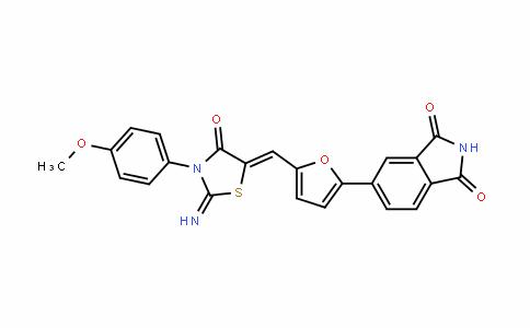 1H-IsoinDole-1,3(2H)-Dione, 5-[5-[[2-imino-3-(4-methoxyphenyl)-4-oxo-5-thiazoliDinyliDene]methyl]-2-furanyl]-
