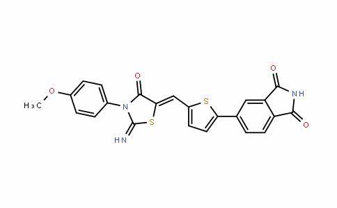 1H-IsoinDole-1,3(2H)-Dione, 5-[5-[[2-imino-3-(4-methoxyphenyl)-4-oxo-5-thiazoliDinyliDene]methyl]-2-thienyl]-