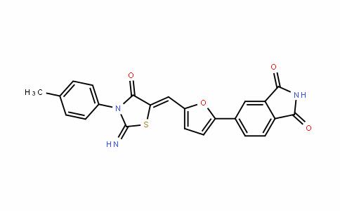 1H-IsoinDole-1,3(2H)-Dione, 5-[5-[[2-imino-3-(4-methylphenyl)-4-oxo-5-thiazoliDinyliDene]methyl]-2-furanyl]-