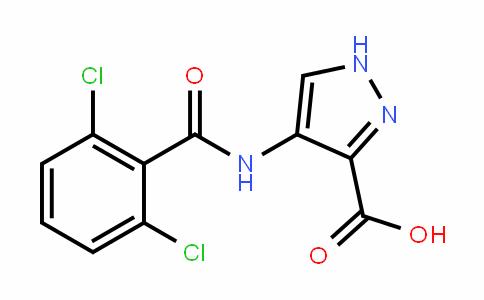 1H-Pyrazole-3-carboxylic acid, 4-[(2,6-Dichlorobenzoyl)amino]-