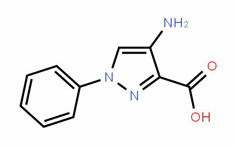 1H-Pyrazole-3-carboxylic acid, 4-amino-1-phenyl-
