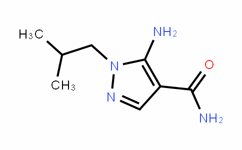 1H-Pyrazole-4-carboxamiDe, 5-amino-1-(2-methylpropyl)-