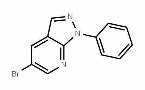 1H-Pyrazolo[3,4-b]pyriDine, 5-bromo-1-phenyl-
