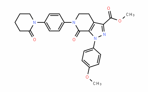 1H-Pyrazolo[3,4-c]pyriDine-3-carboxylic acid, 4,5,6,7-tetrahyDro-1-(4-methoxyphenyl)-7-oxo-6-[4-(2-oxo-1-piperiDinyl)phenyl]-, methyl ester