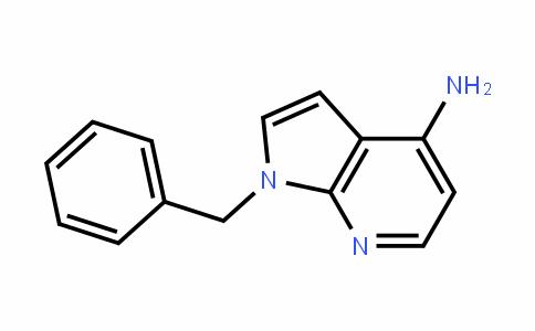 1H-Pyrrolo[2,3-b]pyriDin-4-amine, 1-(phenylmethyl)-