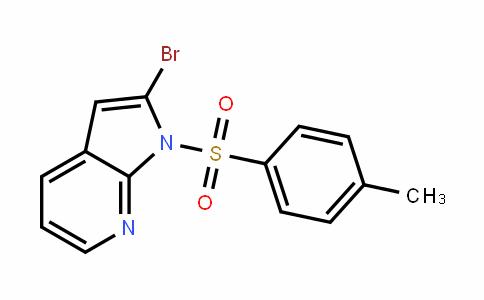 2-溴-1-甲苯磺酰基-1H-吡咯[2,3-B]并吡啶