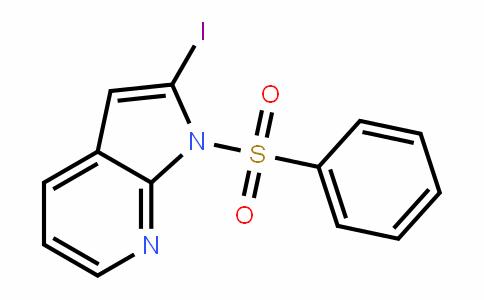 1-苯磺酰基-2-碘-7-氮杂吲哚