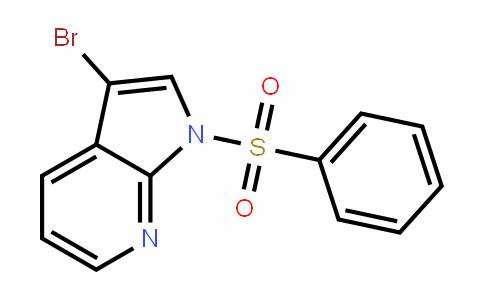 1H-Pyrrolo[2,3-b]pyriDine, 3-bromo-1-(phenylsulfonyl)-