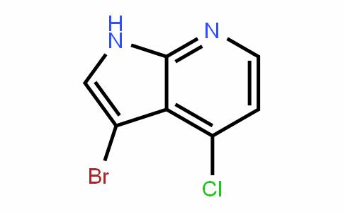1H-Pyrrolo[2,3-b]pyriDine, 3-bromo-4-chloro-