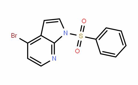 1H-Pyrrolo[2,3-b]pyriDine, 4-bromo-1-(phenylsulfonyl)-