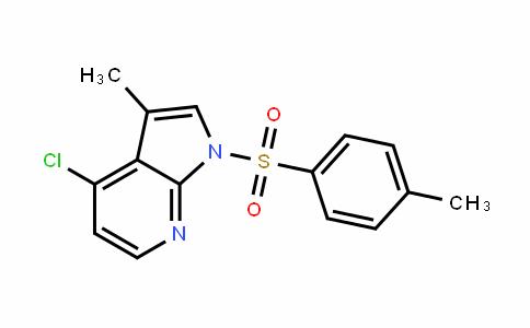 1H-Pyrrolo[2,3-b]pyriDine, 4-chloro-3-methyl-1-[(4-methylphenyl)sulfonyl]-