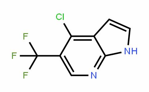 1H-Pyrrolo[2,3-b]pyriDine, 4-chloro-5-(trifluoromethyl)-