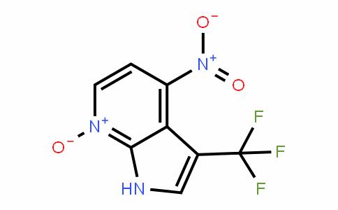 1H-Pyrrolo[2,3-b]pyriDine, 4-nitro-3-(trifluoromethyl)-, 7-oxiDe