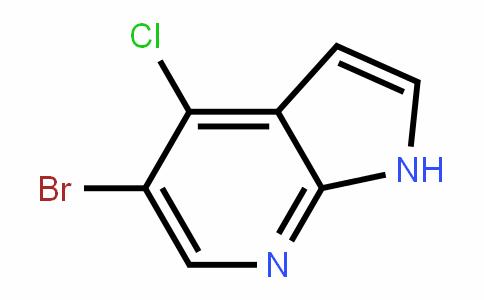 1H-Pyrrolo[2,3-b]pyriDine, 5-bromo-4-chloro-