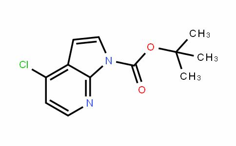 1H-吡咯[2,3-B]吡啶-1-羧酸-4-氯-1,1-二甲基乙酯