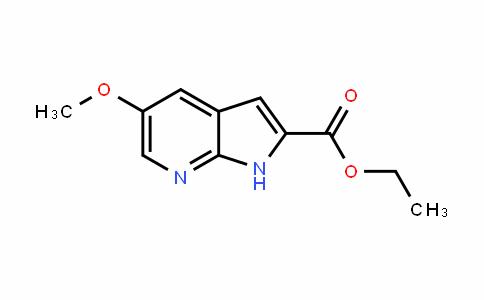 1H-Pyrrolo[2,3-b]pyriDine-2-carboxylic acid, 5-methoxy-, ethyl ester