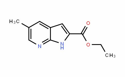 1H-Pyrrolo[2,3-b]pyriDine-2-carboxylic acid, 5-methyl-, ethyl ester