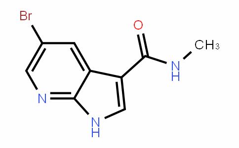 1H-Pyrrolo[2,3-b]pyriDine-3-carboxamiDe, 5-bromo-N-methyl-