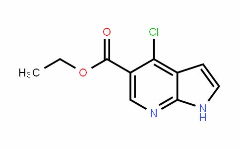 1H-Pyrrolo[2,3-b]pyriDine-5-carboxylic acid, 4-chloro-, ethyl ester