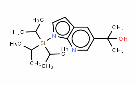 1H-Pyrrolo[2,3-b]pyriDine-5-methanol, a,a-Dimethyl-1-[tris(1-methylethyl)silyl]-