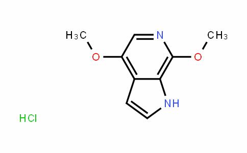 1H-Pyrrolo[2,3-c]pyriDine, 4,7-Dimethoxy-, hyDrochloriDe (1:1)