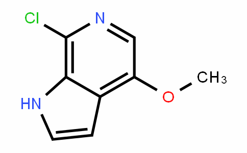 1H-Pyrrolo[2,3-c]pyriDine, 7-chloro-4-methoxy-