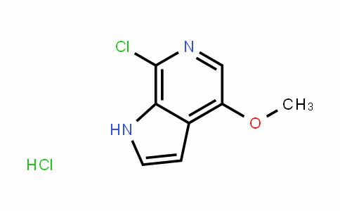 1H-Pyrrolo[2,3-c]pyriDine, 7-chloro-4-methoxy-, hyDrochloriDe (1:1)